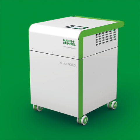 Anti-COVID air purification systems