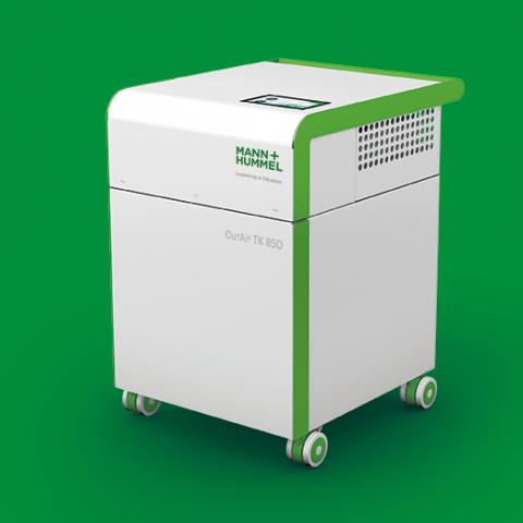 Anti-COVID-Luft Reinigungssysteme