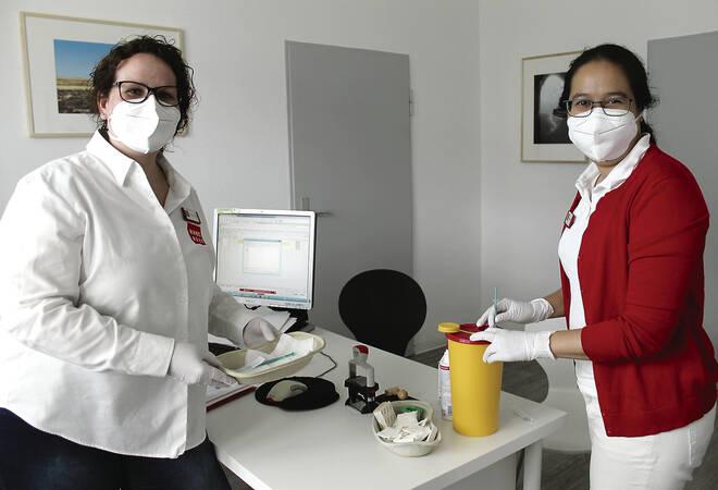 Impfen ins Wiesloch, Hausarztzentrum bei Pilotprojekt dabei.