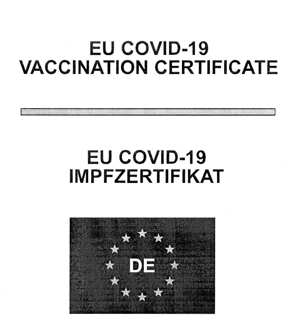 Datensicheres Impfzertifikat